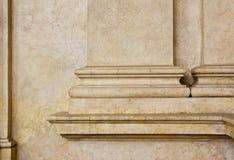 古色古香的墙壁细节背景 图库摄影