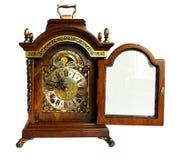 古色古香的壁炉台编钟时钟 库存照片