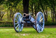 古色古香的大炮 库存照片