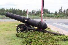 古色古香的大炮 库存图片