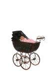 古色古香的婴孩背景支架高关键字 免版税库存照片