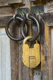 古色古香的安全系统 库存照片