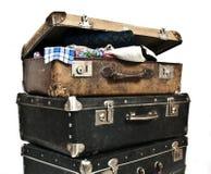 古色古香的宝物箱 免版税库存照片