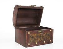 古色古香的小箱 免版税库存图片