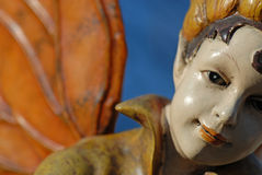 古色古香的小雕象ii 库存图片