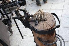 古色古香的工艺工具 免版税库存照片
