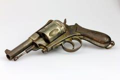 古色古香的左轮手枪 免版税库存图片