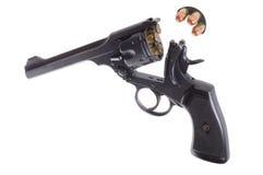 古色古香的左轮手枪 免版税库存照片