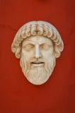 古色古香的希腊屏蔽 免版税库存照片
