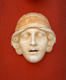 古色古香的希腊屏蔽 库存图片