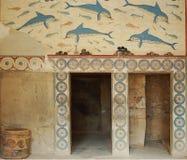 古色古香的希腊废墟 免版税库存图片