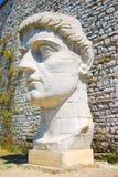 古色古香的希腊雕象 免版税图库摄影