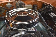 古色古香的引擎细节 图库摄影
