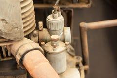 古色古香的引擎 免版税库存照片