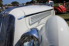古色古香的意大利汽车角落细节 免版税库存图片