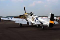 古色古香的战机 免版税图库摄影
