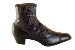 古色古香的手工制造鞋子 免版税库存图片