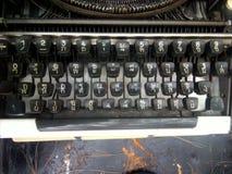 古色古香的打字机老经典之作 库存照片