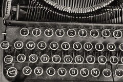 古色古香的打字机IV 图库摄影