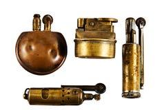 古色古香的打火机 免版税库存照片