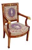 古色古香的扶手椅子 库存照片