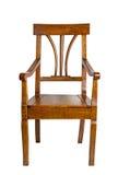 古色古香的扶手椅子 免版税库存图片