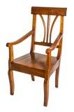 古色古香的扶手椅子 图库摄影