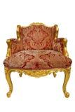 古色古香的扶手椅子 免版税库存照片