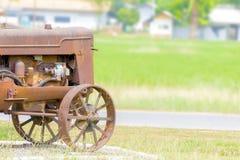 古色古香的拖拉机 库存图片