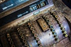古色古香的收款机 库存照片