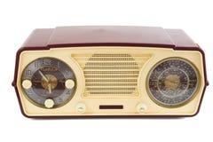 古色古香的收音机 库存照片