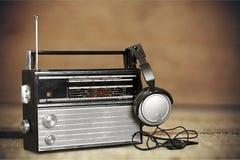 古色古香的收音机 图库摄影
