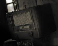 古色古香的收音机 库存图片