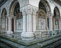 古色古香的教会列老正统罗马尼亚语 库存图片
