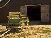 古色古香的无盖货车 库存图片