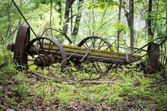 古色古香的无盖货车保持 免版税库存照片