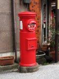 古色古香的日本邮箱 免版税库存图片