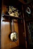 古色古香的时钟墙壁 免版税库存照片