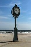 古色古香的时钟,雅各布Riis公园 免版税图库摄影