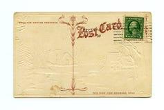 古色古香的明信片 库存照片