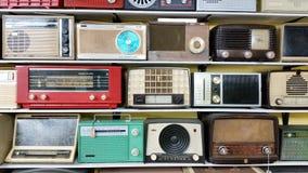 古色古香的晶体管收音机 图库摄影