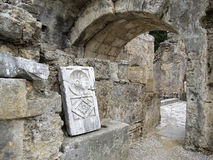 古色古香的曲拱 库存图片