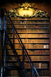 古色古香的木书架 库存照片