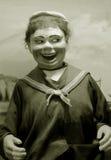 古色古香的木偶 图库摄影