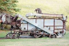 古色古香的机械汇编北达科他 免版税库存图片