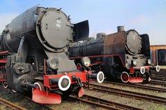 黑古色古香的机车的图片 免版税库存照片
