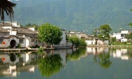 古色古香的村庄 库存照片