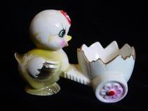 古色古香的杯子鸡蛋 库存图片