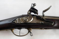 古色古香的枪细节 库存图片