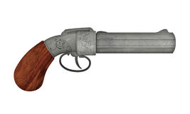 古色古香的枪 图库摄影